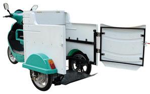 电动三轮环卫车发动机温度过高的因素