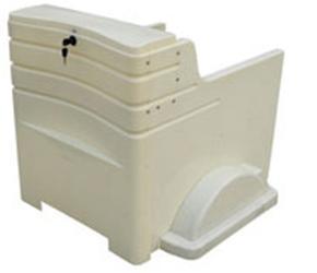 电动240升挂桶车全新ABS塑料车身