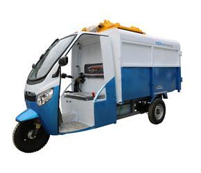 深圳FTC-2500L电动三轮翻桶车
